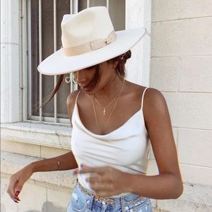 Lack of Color Zulu Rancher Hat in Ivory